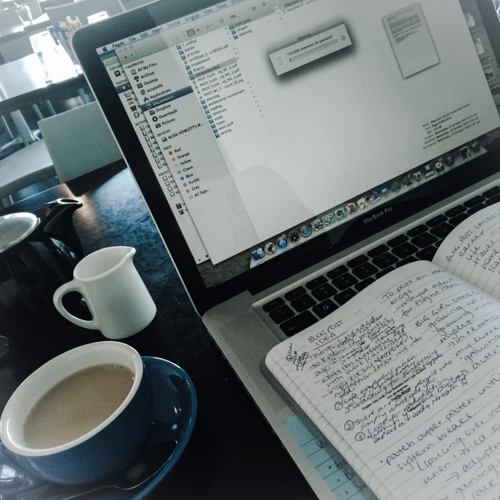 weekend writing